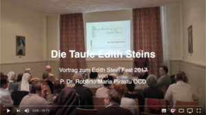 Die Taufe Edith Steins - Video